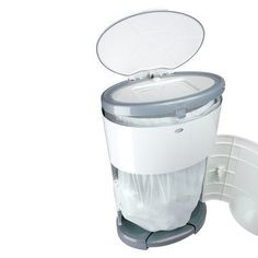 Dekor Kolor Plus Diaper Disposal System - SOFT MINT AVAILABLE ABLE BUY BUY BABY