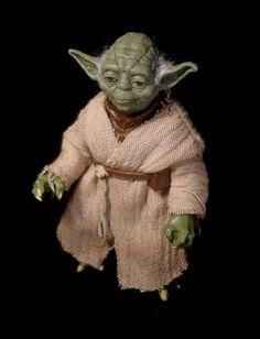 Black series Yoda (Star Wars) Custom Action Figure