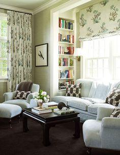 living room design by ken gemes