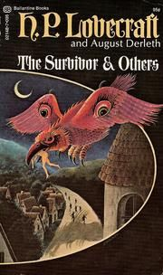 august derleth and hp lovecraft book covers