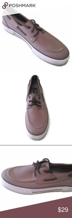 Polo by Ralph Lauren Men's Grey Canvas Shoes Sz 8 Polo by Ralph Lauren  Brand: Polo Ralph Lauren Brand New  Color: Gray  Size: 8 Polo by Ralph Lauren Lander Boat Shoes Textile upper in a casual boat shoe style with a round moc stitched toe Lace-up front with 360° lacing system Decorative stitching Smooth lining with a cushioning footbed Traction out sole  From %100 Positive feedback  US Seller Polo by Ralph Lauren Shoes Loafers & Slip-Ons