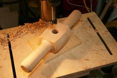 Tapered tenon cutter & mortise reamer #5: Tapered cutter - finale