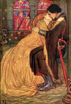 The Last Hour (Illustration For Guinevere By Alfred, Lord Tennyson) by Emma Florence Harrison