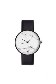 7d71c6e47a81 MINIMAL + CLASSIC  TIMEPIECE CHARCOAL Marble Watch