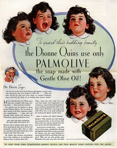 Palmolive with the Dionne Quintuplets, 1936-38