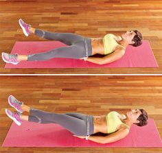 Add these three moves to your workout for taut six-pack abs.
