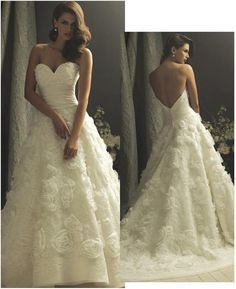 beautiful #wedding #gown