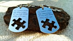 No matter where you are - Couples Keychains - Anniversary Gift - Wedding Gift - Men's Keychian- Long Distance Relationship - Always with you...