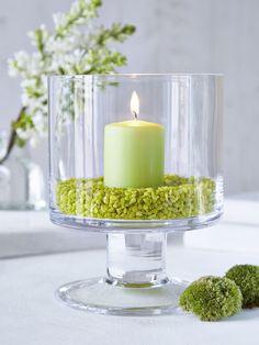 Stylish Glass Hurricane Lamp - Nordic House