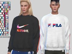 Sims 4 Updates: TSR - Clothing, Male : Sporty Sweatshirts 056 by Pinkzombiecupcakes, Custom Content Download!