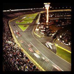 Racing under the lights! #nbccharlotte