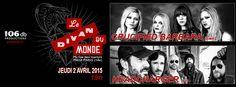Headcharger + Crucified Barbara au Divan du Monde le 2 avril 2015 : Live-report !