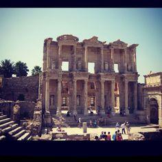 Library in Ephesus, kusadasi Turkey