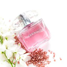 Versace Crystal Perfume 😍 perfume with a feminine fragrance - Cozmetic & Care Ideas Versace Bright Crystal, Perfume Display, Victoria Secret Fragrances, Best Perfume, Unwanted Hair, Beauty Shop, Body Care, Lotus, Perfume Bottles