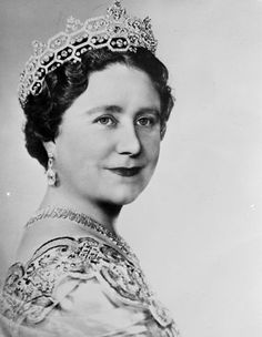 22 October 1954: A portrait of the Queen Mother wearing a frock of deep oyster satin embroidered in gold and silver with crystal bead while on a visit to the United States and Canada