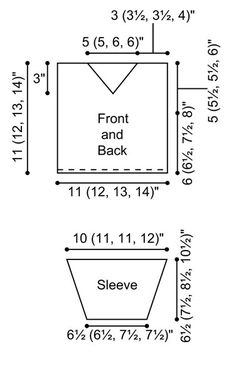 Knitting Pattern Sizes For Babies : 1000+ images about Baby Knitting on Pinterest V neck sweaters, Baby pattern...