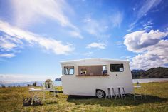 The Coromandel Caravan Bar is the perfect addition to your wedding or event, we can go pretty much anywhere you want to party! Your day, the Coromandel way. Caravan Bar, Photo Credit, Recreational Vehicles, Camper Van, Campers, Single Wide