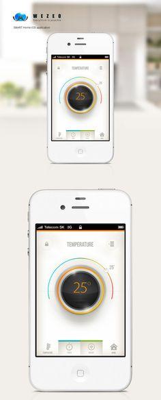 SMART Home (UX/UI) Design