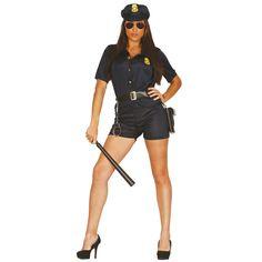 Disfraz de Policía Chica para mujer