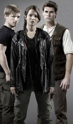 Peeta, Katniss, and Gale