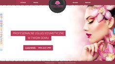 Strona dla firmy BeautyXpress. Więcej projektów na http://www.13design.pl/