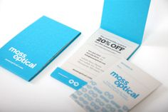 I love the way this opens up...great business card concept