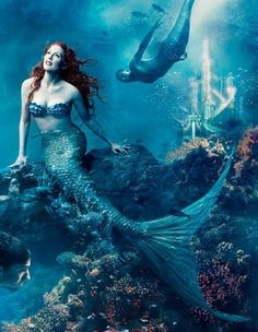 If It's Hip, It's Here: All The Leibovitz Disney Dream Portraits Including The Latest, Julianne Moore & Michael Phelps; The Little Mermaid [UPDATED 2014]