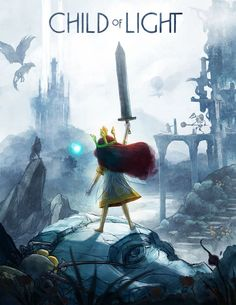 Girls with sword in Child of Light