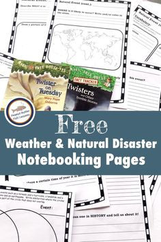 Your children will love to learn about weather and other natural disasters with this list of Magic Tree House books. Includes FREE notebooking pages! Weather Activities for Kids Weather Activities For Kids, Science Activities, Science Lessons, Weather Crafts, Elementary Science, Science For Kids, Earth Science, Natural Disasters For Kids, Grand Canyon
