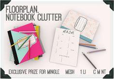 floorplan. exclusive mingle prize | Flickr - Photo Sharing!