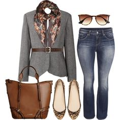 Fall Fridays - Plus Size, created by alexawebb on Polyvore