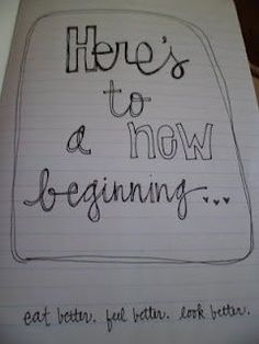 a peek into my weight loss journal. things-to-motivate