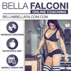 ARE YOU READY TO JOIN ME AND MY TEAM WITH ONLINE COACHING?  I want to help you change your life today! Believe me you can change your life by changing your mindset health and body! Whether you're looking to burn fat build muscle or want to change your life to a heathy lifestyle just promise me you will make a commitment to yourself today. Feel free to email me now with your goals and we will present you the best plan to get you to the best results possible.  Let's get to work…