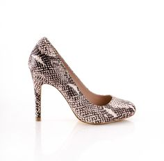 Python Pumps...I have a pr of these and love them, they go with everything, dreasy or casual!