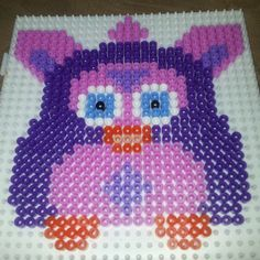 Furby perler beads by stickbilbaochipie