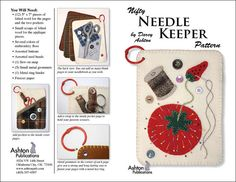 Make your own needlebook.