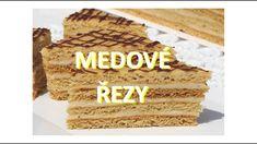 Medové řezy / Helenčino pečení Krispie Treats, Rice Krispies, Tiramisu, Creme, Cheesecake, Food And Drink, Drinks, Ethnic Recipes, Anna