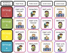 Under the Alphabet Tree: Literacy Stations