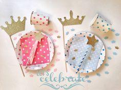 Prince & Princess diy party #partytude