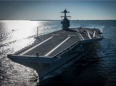 The US Navy just took delivery of the worlds most advanced aircraft carrier