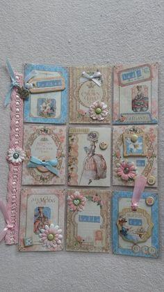 Pocket letter gemaakt van Graphic45 Gilded Lily!