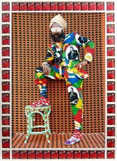 Hassan Jahhah by Hassan Hajjaj, Morrocan artist