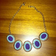 J. Crew Statement Necklace Worn only a few times - great piece! J. Crew Jewelry Necklaces