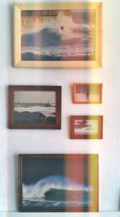 """Surf Leça"" exhibition by Tó Mané. Surf Leça_Surf Shop_Art Gallery_Leça da Palmeira_Portugal. Follow us on instagram: # surf_leca  Photo by Filipa Costa"