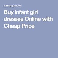 Buy infant girl dresses Online with Cheap Price