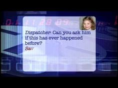 5 year old talks to dispatcher when her father begins to have chest pains. SO cute