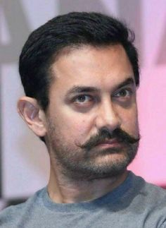 Sr K, Aamir Khan, Hrithik Roshan, Bollywood Actors, Mustache, My Hero, Superstar, Hairstyle, Celebrities