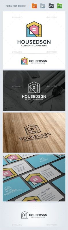 House Design - Architecture Logo Template #design #logotype Download: http://graphicriver.net/item/house-design-architecture-logo-template/13816376?ref=ksioks: