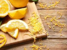 Zmrazování citronové kůry je pro naše zdraví plus.