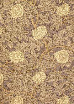 William Morris Rose Wallpaper